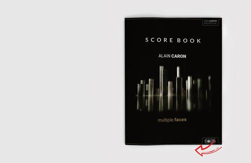 Multiple Faces Scorebook Flipbook